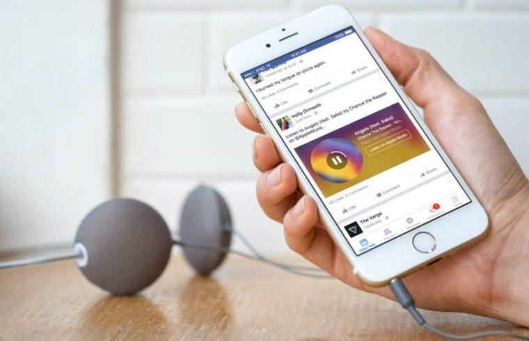 Muzyka na Facebook