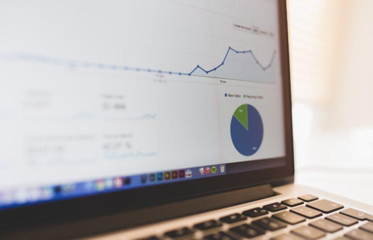 Google Analytics na ekranie
